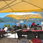 Lunch beside the Adriatic Sea in Perast, Montenegro at Conte Nautilus