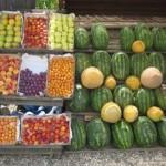 Bosnian Fruit Stand Bijeljina