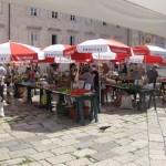 Dubrovnik Old Town Market in Croatia
