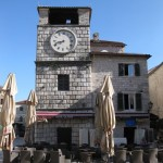 Old Town Market in Kotor, Montenegro