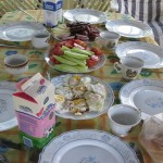 A Hearty Village Breakfast in Kozarci