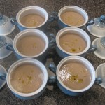 Porcini Chestnut Soup with White Truffle Oil