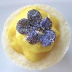 Lemon Shortbread Tarts with Lemon Curd