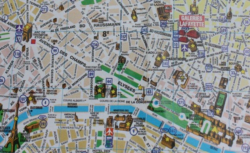 place de la concorde map