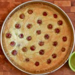 Heart Friendly Olive Oil Cake with Red Seedless Grapes