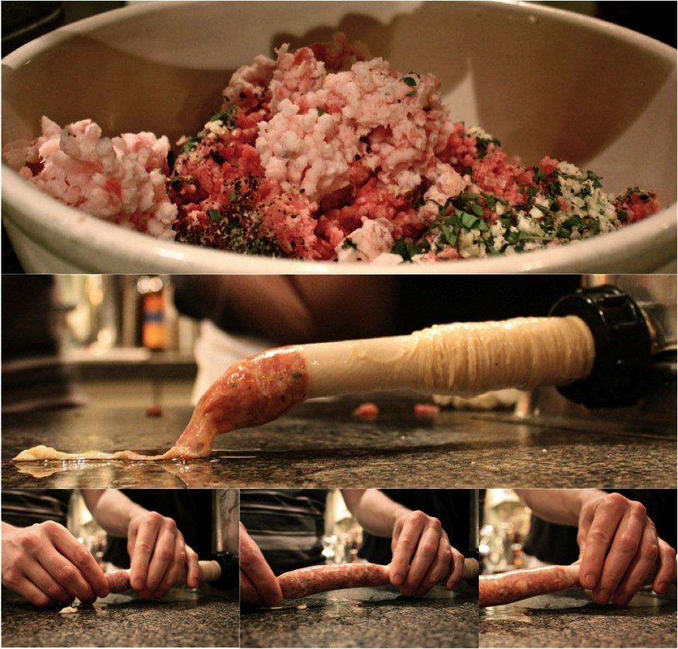 allan suddaby presents artisanal sausage  kielbasa  spicy