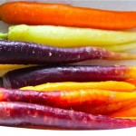New Garden Carrots: Simple Art on a Plate