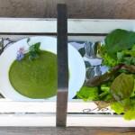 Lettuce Soup or Potage de Laitue Verte