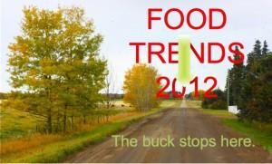2012 Food Trends