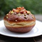 Chef Paul Shufelt's Bacon Cherry Donut
