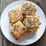 Healthy Seed and Salt Crackers