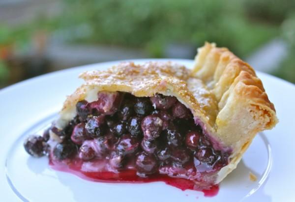 Traditional Saskatoon Berry Pie
