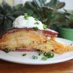 Bacon Potato Cheddar Tart