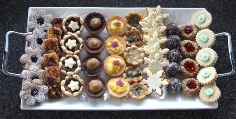 Traditional Canadian Christmas Cookies And Tarts 2012