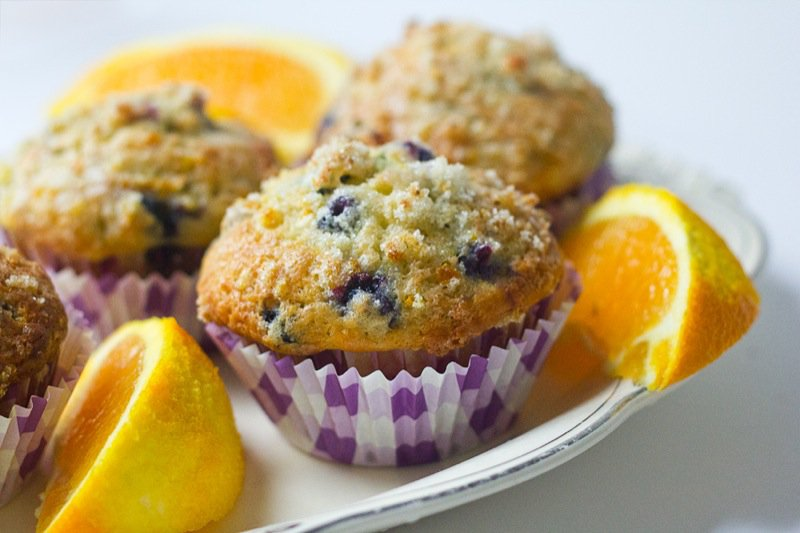 Cherry Bomb Joanne Blueberry-Orange-Sweet-Muffins