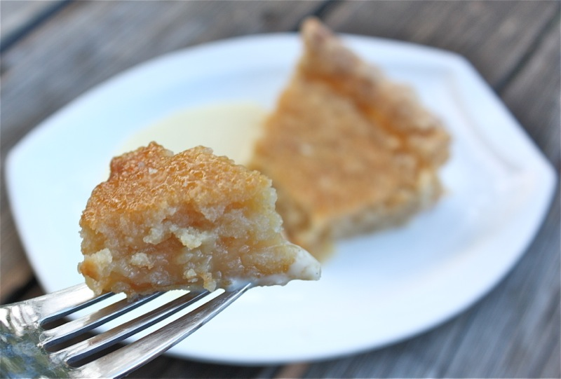 Traditional Canadian Maple Sugar Pie
