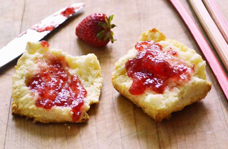 Julie Strawberry rhubarb Jam (Val)
