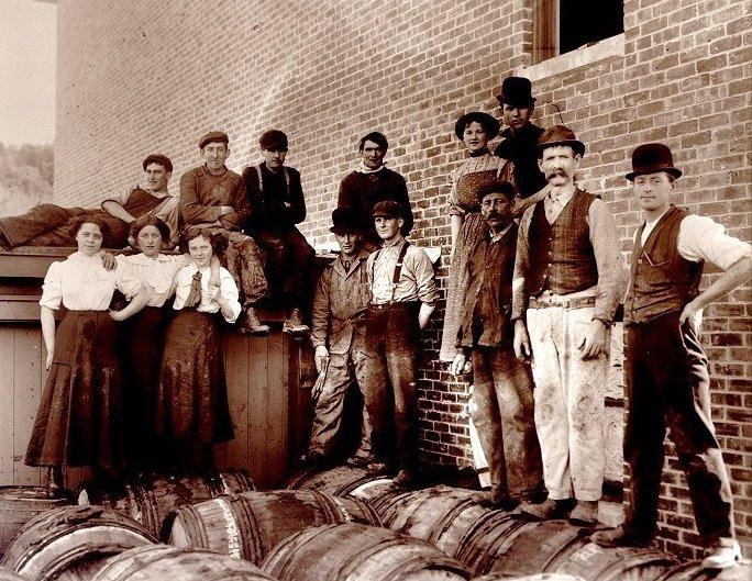 Bridget Molasses and More  employees nov 1911