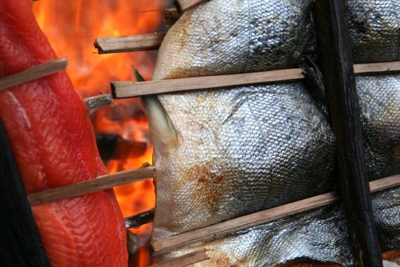 Dana and Lindsay Salmon Feast