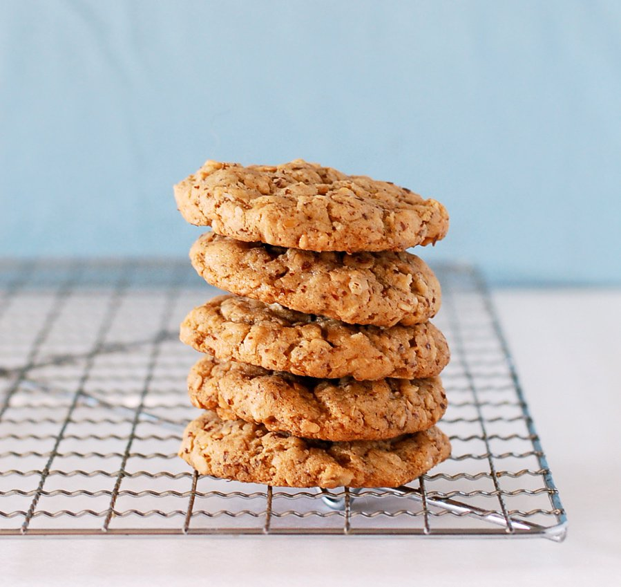 Nicole Culinary Cool flax cookies 1