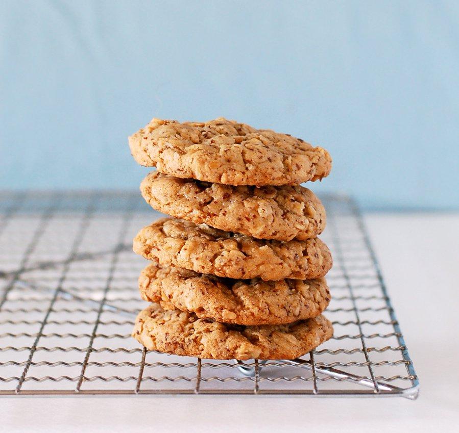 Nicole Culinary Cool flax cookies 1