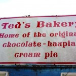 Ted's Bakery, Sunset Beach, Oahu: The Famous Chocolate Haupia Pie