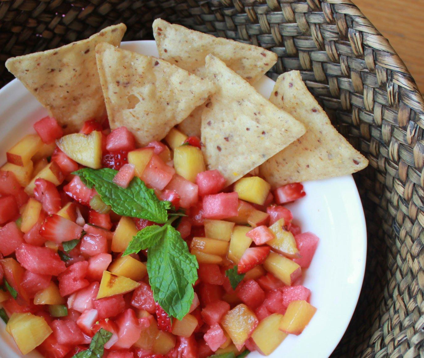 Wanda grilled-peach,-watermelon-a