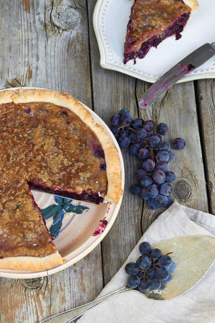 concord grape pie - one slice gonePortrain-900