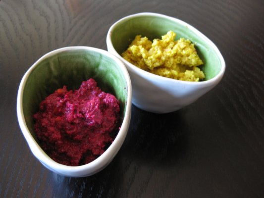 A Canadian Foodie Raw Beet Pesto