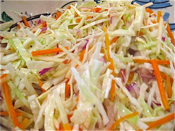 A Candian Foodie Coleslaw