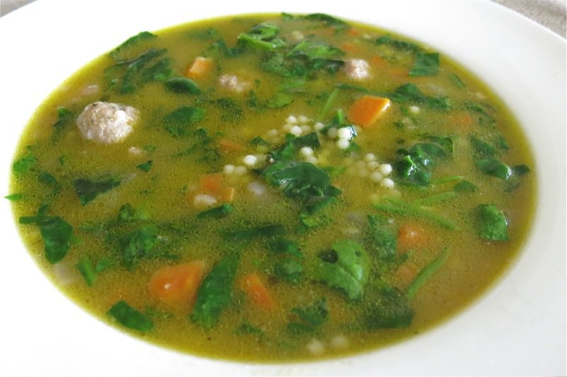 Italian Wedding Soup Spinach