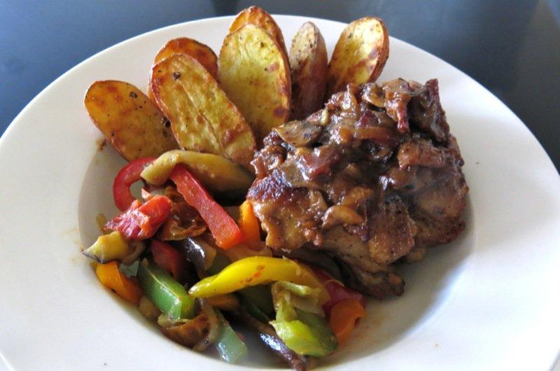 quick quick chicken in wine red wine chicken stew quick chicken ...