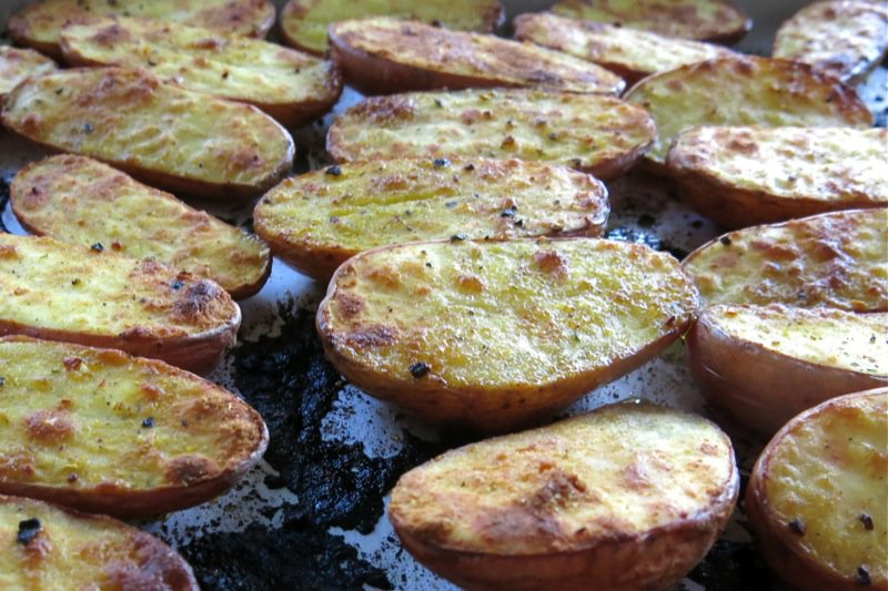 Quick Oven Roasted Potatoes