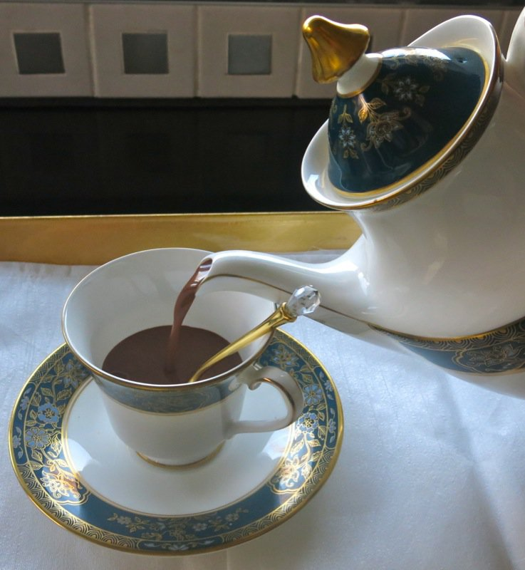 Adult Hot Chocolate via Thermomix
