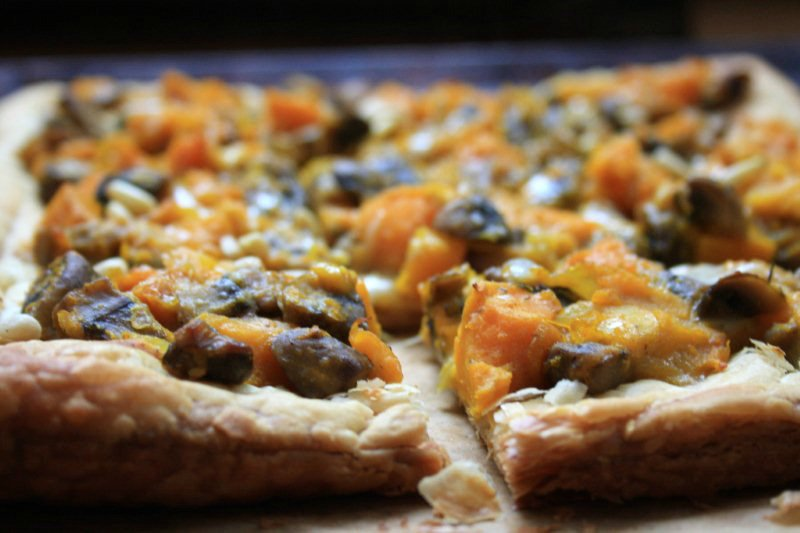 Bridget roasted squash galette