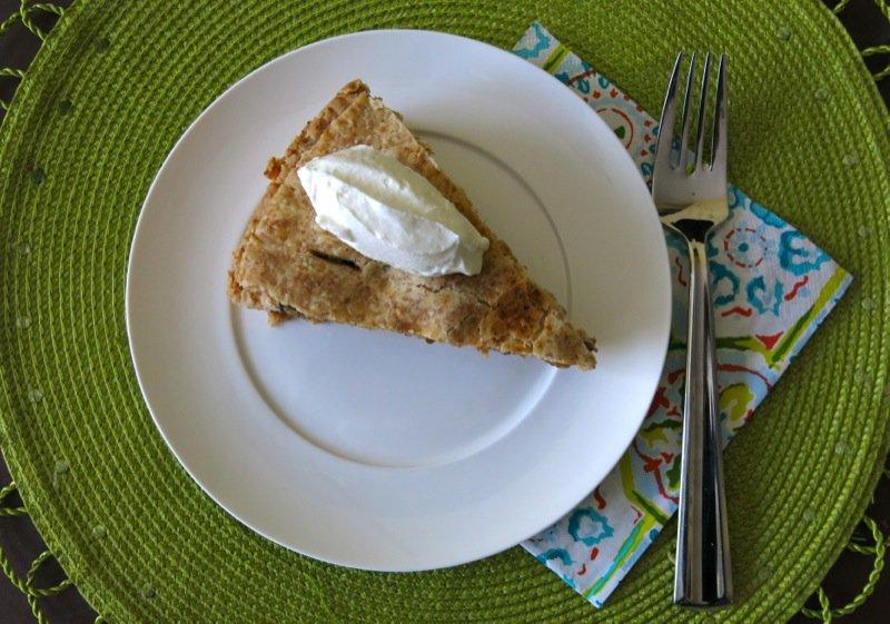 Savory Green Tomato Pie
