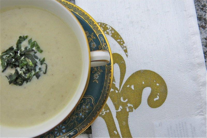 Humble White Turnip Soup