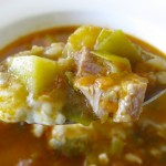 Krupnik: Polish Barley Soup with Chicken
