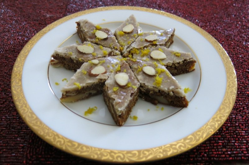German Lebkuchen Bars