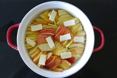 Autumn Apples with Latin Foods Queso Fresco