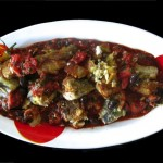 Baccala with Tomatoes, Capers and Olives: Baccalà alla Napoletana