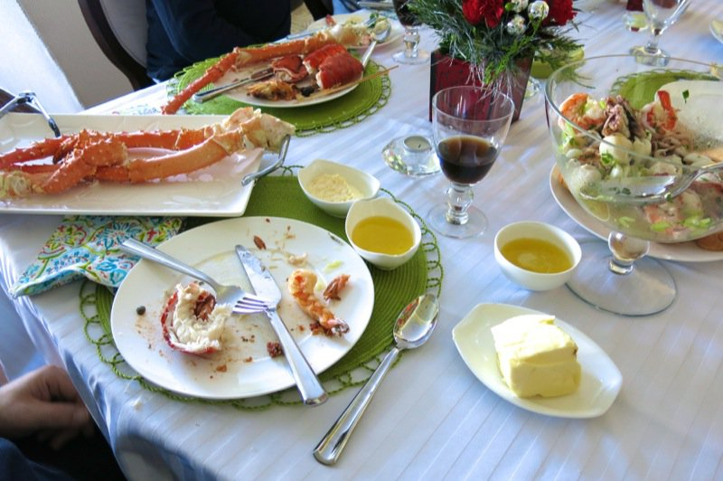 11 Lobster and Crab Served