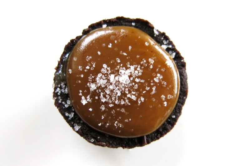 Chocolate Salted Caramel Tarts