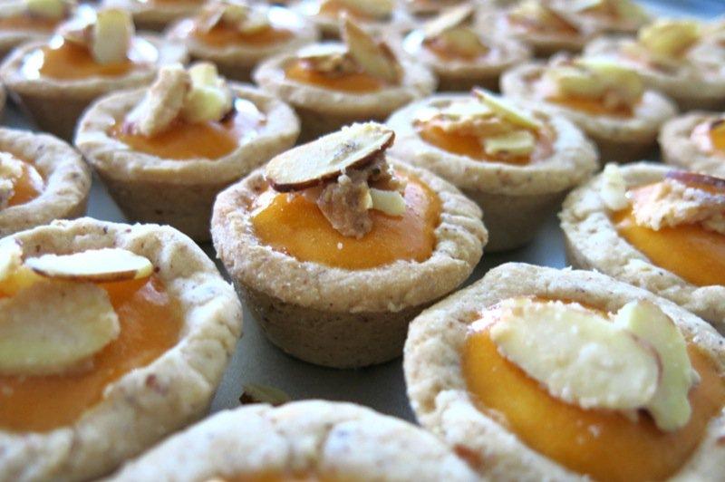 Apricot Almond Tarts