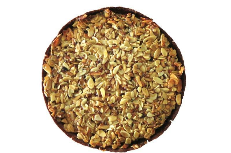32 Apple Almond Pie Top Down