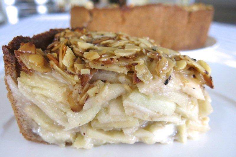 35 Apple Almond Pie Slice