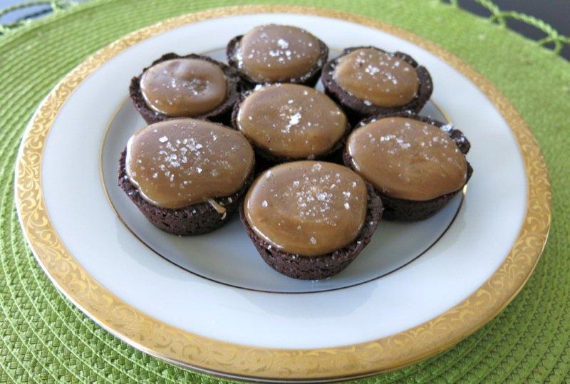 Chocolate Salted Caramel Tarts