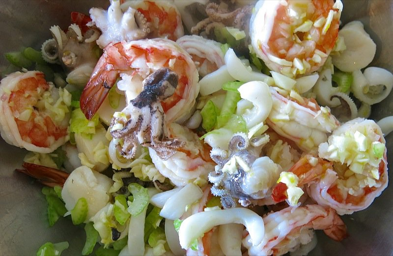 seafood pasta provencal seafood pie frutti di mare seafood salad