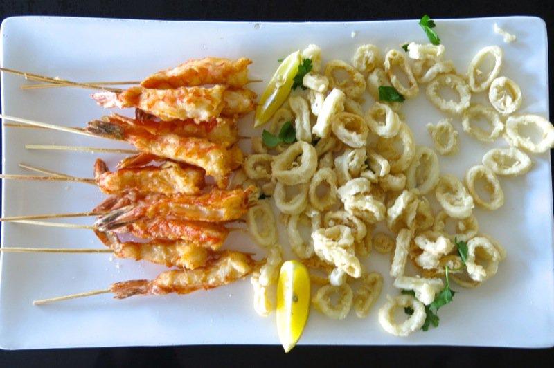 8 Deep Fried Shrimp