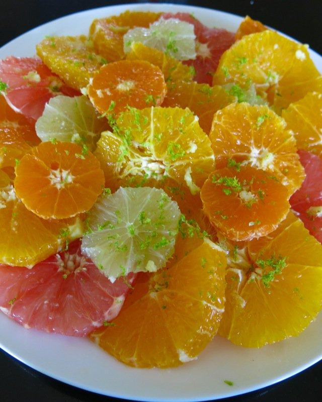 1 Citrus Salad close up